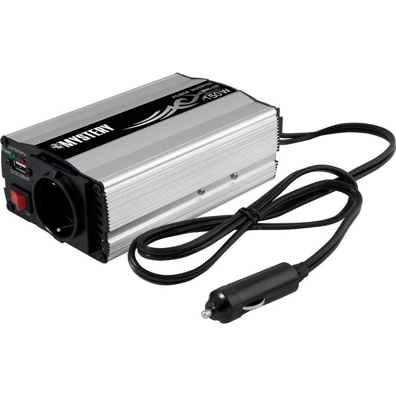 Автоинвертор MYSTERY MAC-150. мощность 150вт. USB