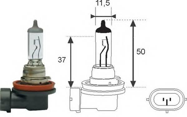 Лампочка H8 12V 35W