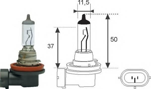 Лампочка H11 12V 55W