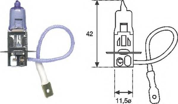 Лампа H3 12V55W