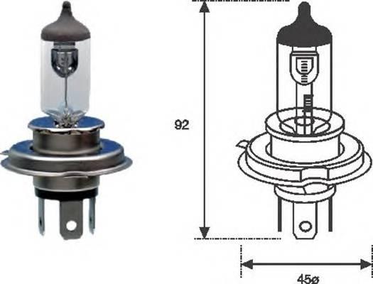 Лампа H4 12V 60 55W