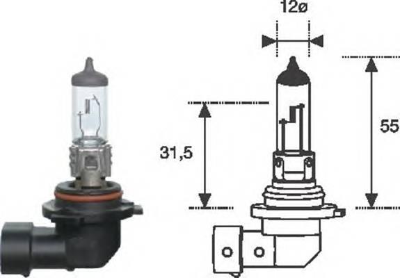 Лампа HB4 12V standart