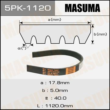 Фотография Masuma 5PK1120