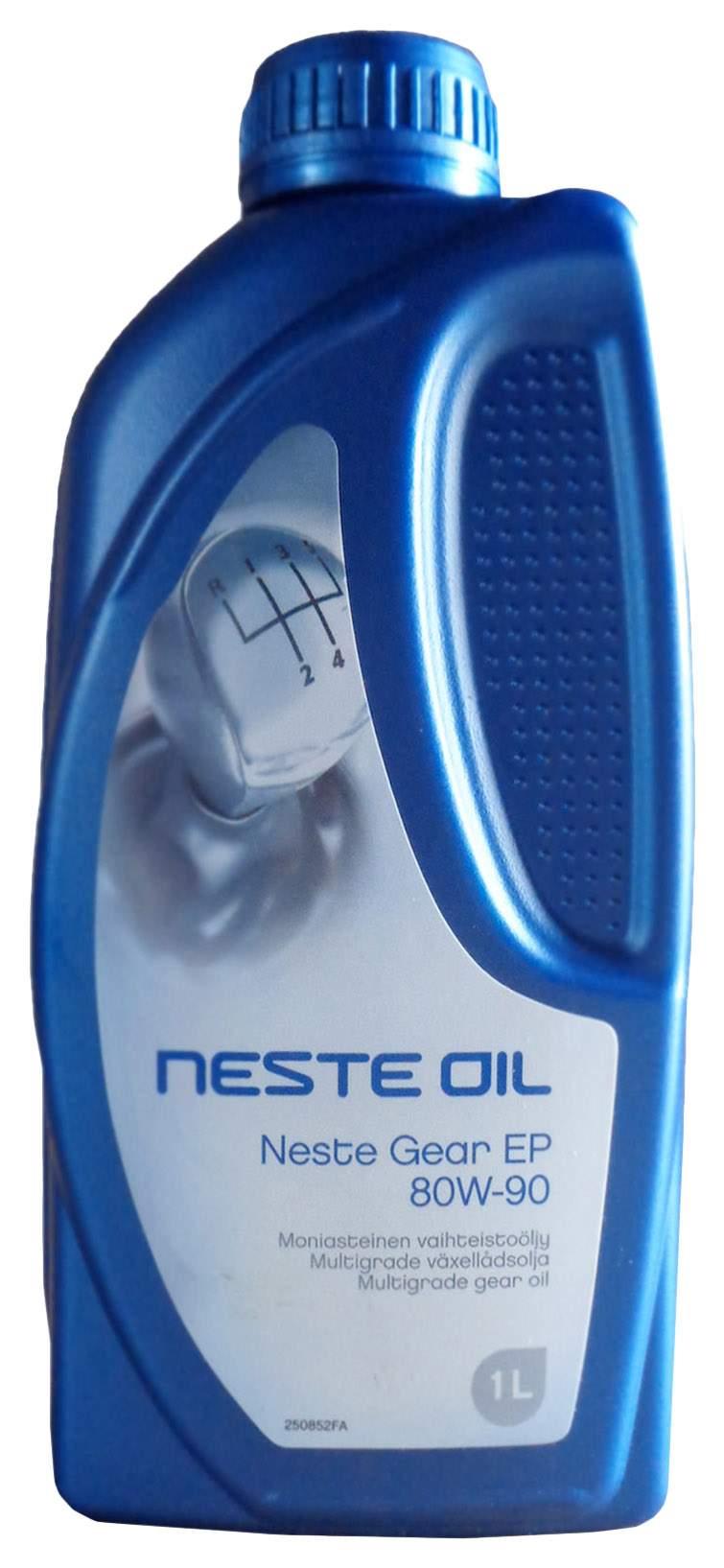 Масло трансмиссионное 1л Neste Gear 80W-90