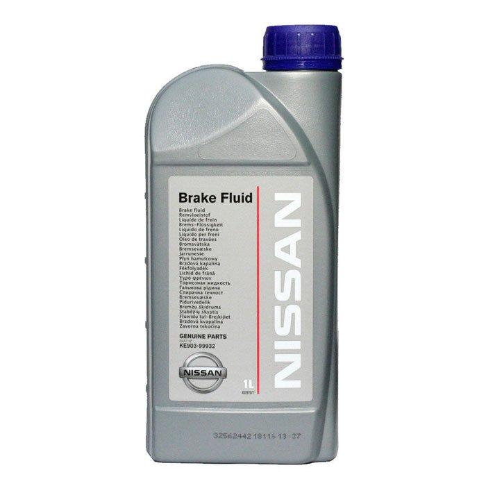 Жидкость тормозная NISSAN BRAKE FLUID DOT-4 1л