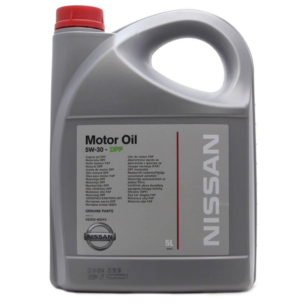 Масло моторное NISSAN 5W30 DPF (5л)