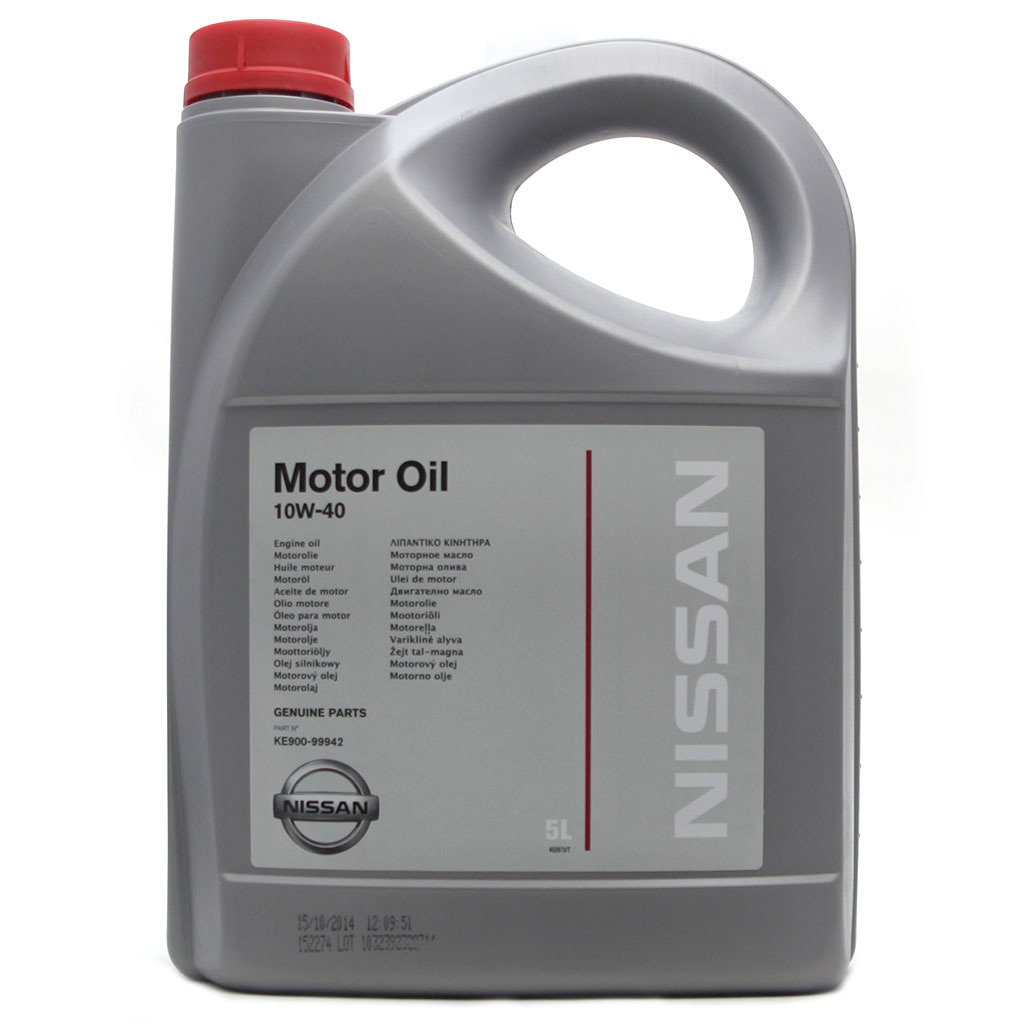 Масло моторное NISSAN 10W40  (5л)