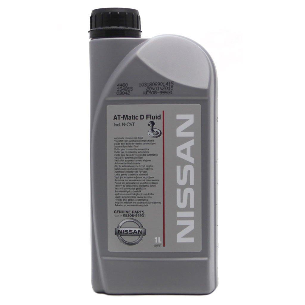 Масло трансмиссионное NISSAN AT-Matic D Fluid  N-CVT 1л