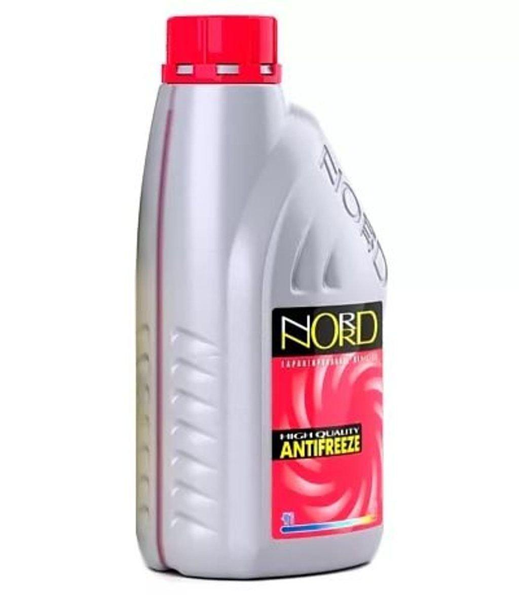 Антифриз NORD-40 красный 1кг