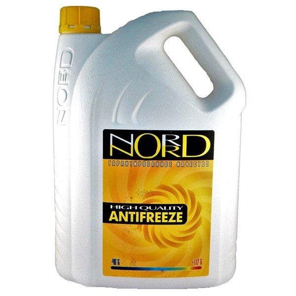 Антифриз NORD-40 желтый 5кг