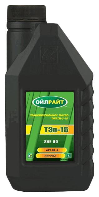 Масло трансмиссионное ТЭП-15 (нигрол) 1л OIL RIGHT 2554