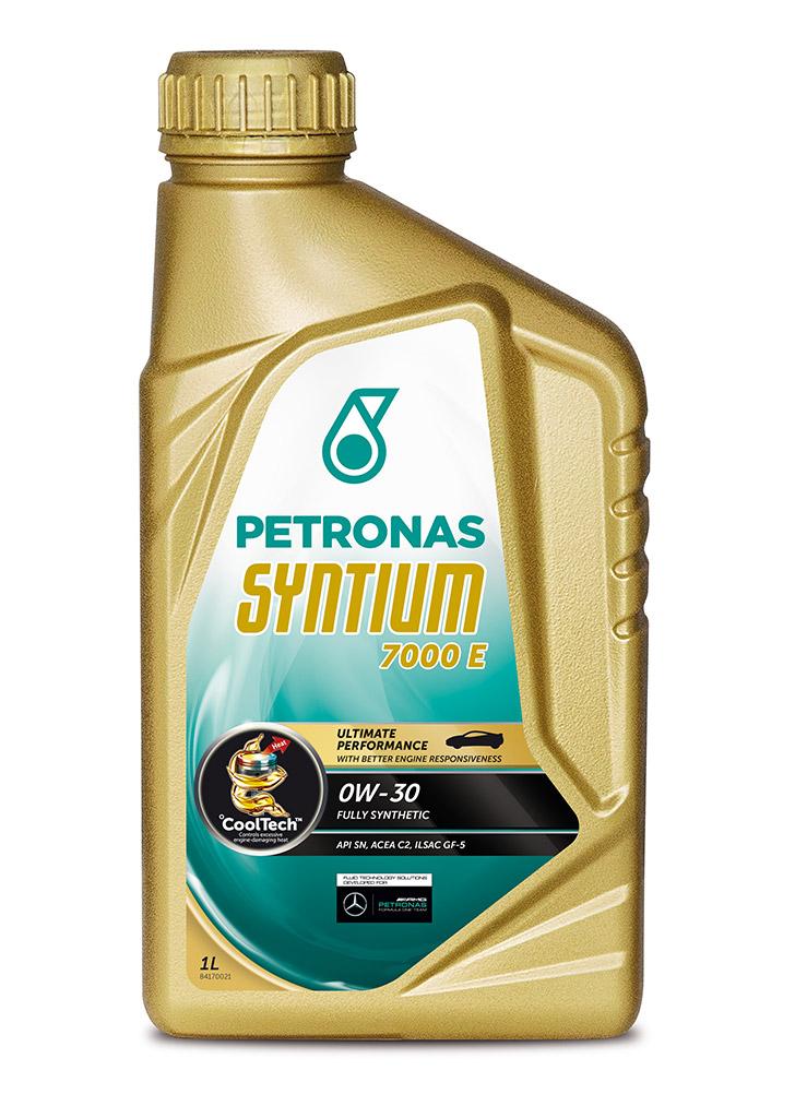 Масло моторное PETRONAS SYNTIUM7000 E 0W30 1 л. ACEA C2API SN