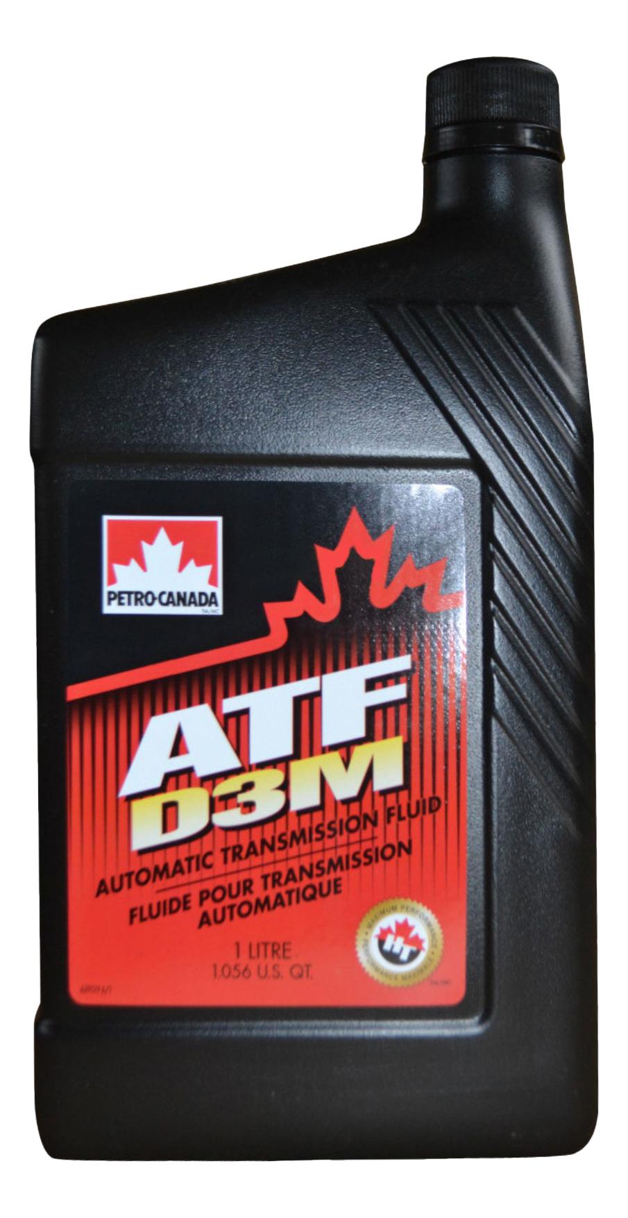 Трансмиссионное масло PETRO-CANADA ATF D3M (1л)