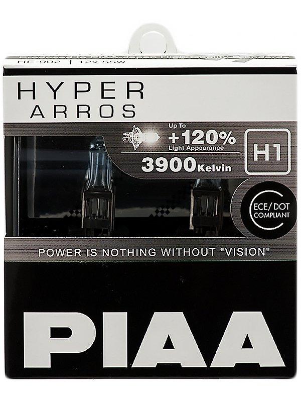 Лампа галоген (к-т 2шт) HYPER ARROS (TYPE H1) (3900K) 55W