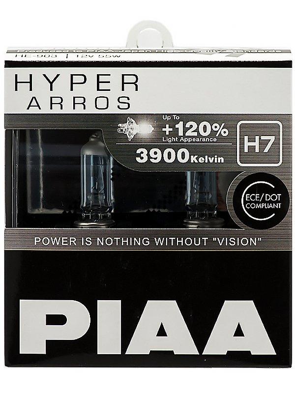 Лампа галоген (к-т 2шт) HYPER ARROS (TYPE H7) (3900K) 55W