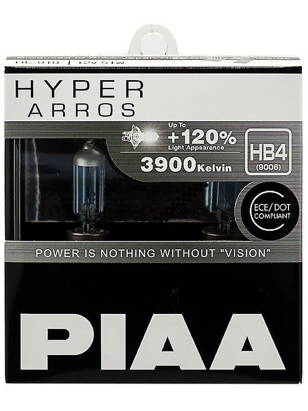 Лампа галоген HYPER ARROS (TYPE HB4) (3900K) 50W 2 шт.
