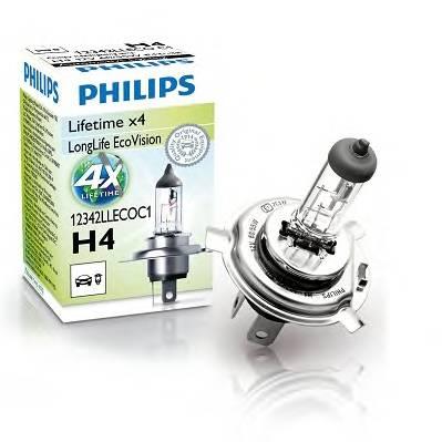 Лампа H4 12342 LLECO 12V 60 55W C1 (1) LLECO