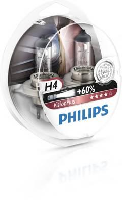 Лампа H4 12V 60 55W VisionPlus