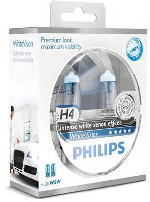 Лампы H4 WhiteVision 60 2шт