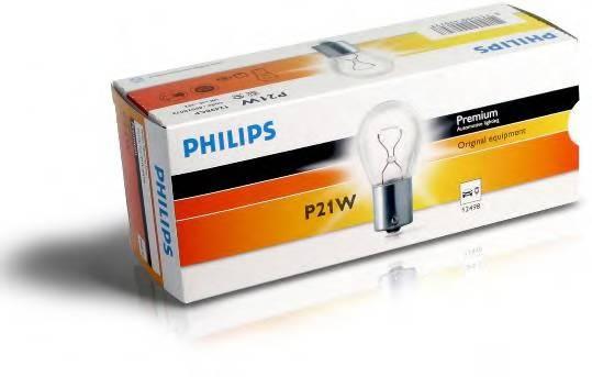 Лампа P21W 12498 12V CP (10) STANDARD