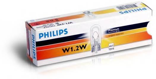 Лампа W1 2W 12516 12V CP (10) STANDARD