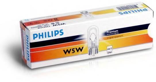 Лампа W5W 12961 12V CP (10) STANDARD