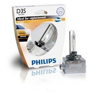 Лампа D3S 42V(35W) Xenon Vision в пласт коробке