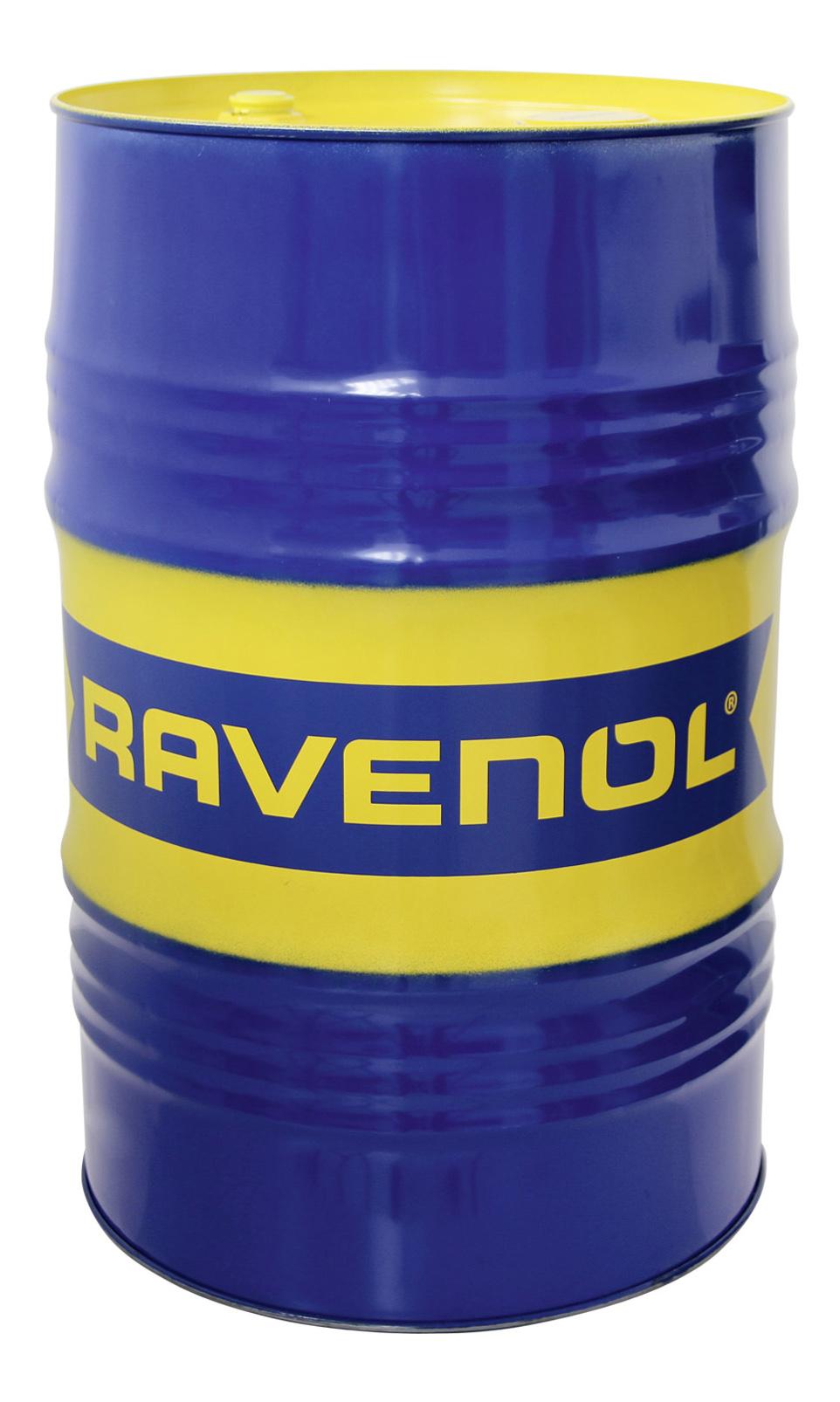 Трансмиссионное масло RAVENOL ATF 6 HP Fluid(208л) цвет