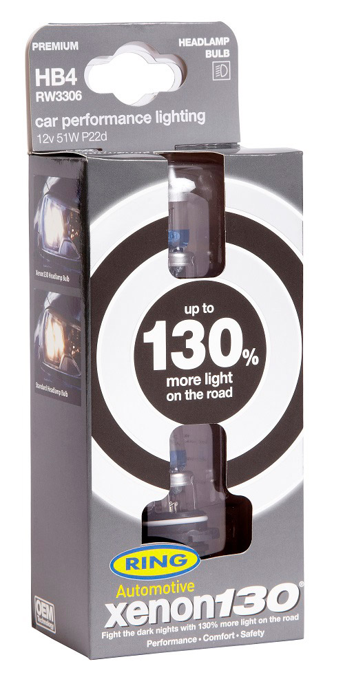 Автолампа RING в пластиковой упаковке (по 2 шт): 12 вольт. мощность 51W. цоколь