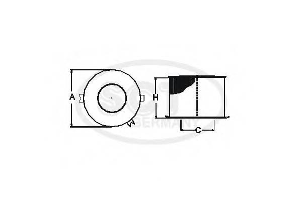 Воздушный фильтр BMW E90/E91/E92/E87 1.8/2.0 04-