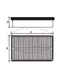 Воздушный фильтр MAZDA 6 2.3 05-07/CX-7 2.3/2.5 05-