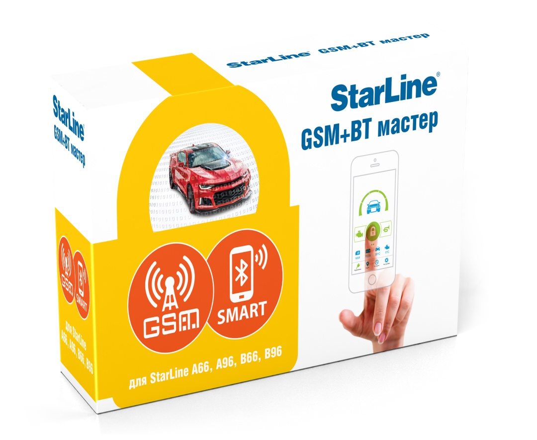Модуль StarLine GSM+BT Мастер-6 4 sim- карты