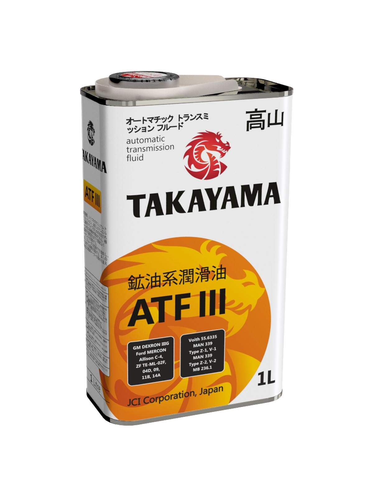 Масло TAKAYAMA ATF III (1л)