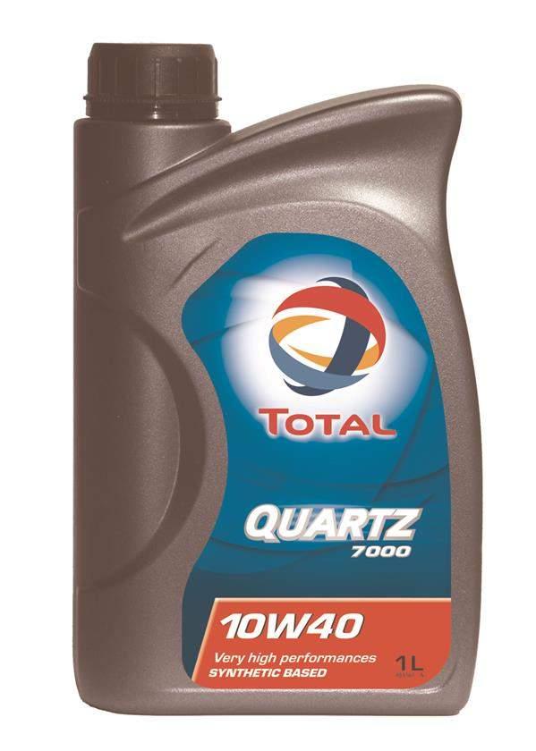 Масло моторное полусинт. QUARTZ 7000 10W-40 (1л) пластик