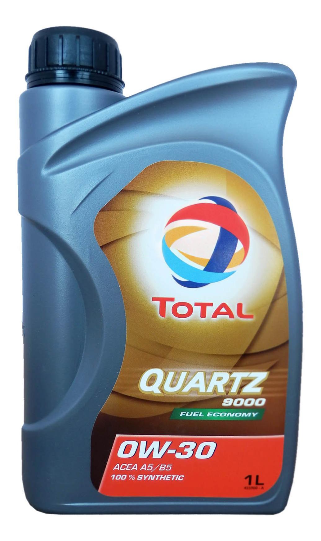 Масло моторное синт. QUARTZ 9000 0W-30 18B 1л