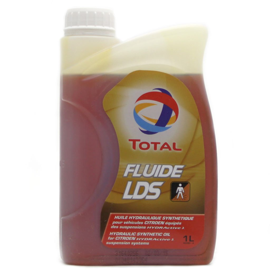 Жидкость ГУР TOTAL FLUIDE LDS 18B 1л для Citroen обор. системами HYDRActive3