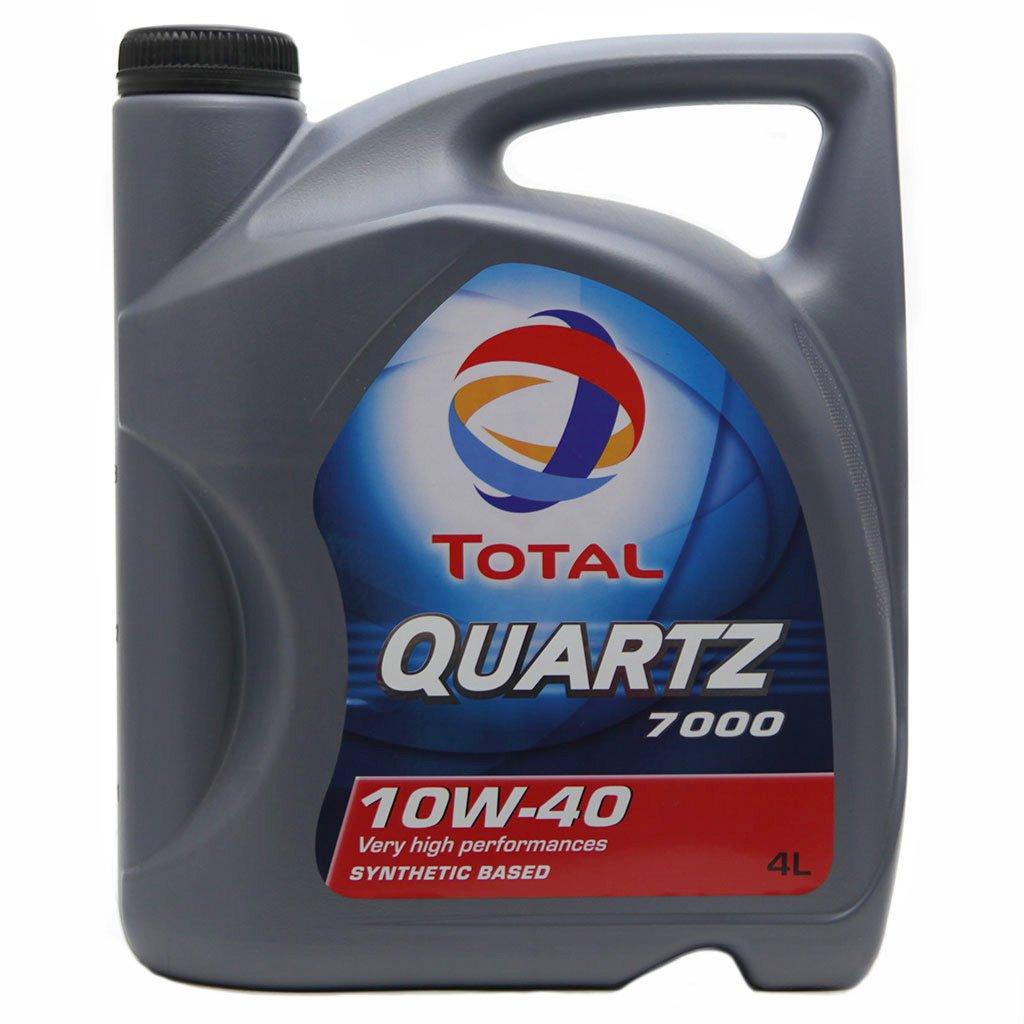 Масло TOTAL QUARTZ 7000 10W40 псинт (4л)