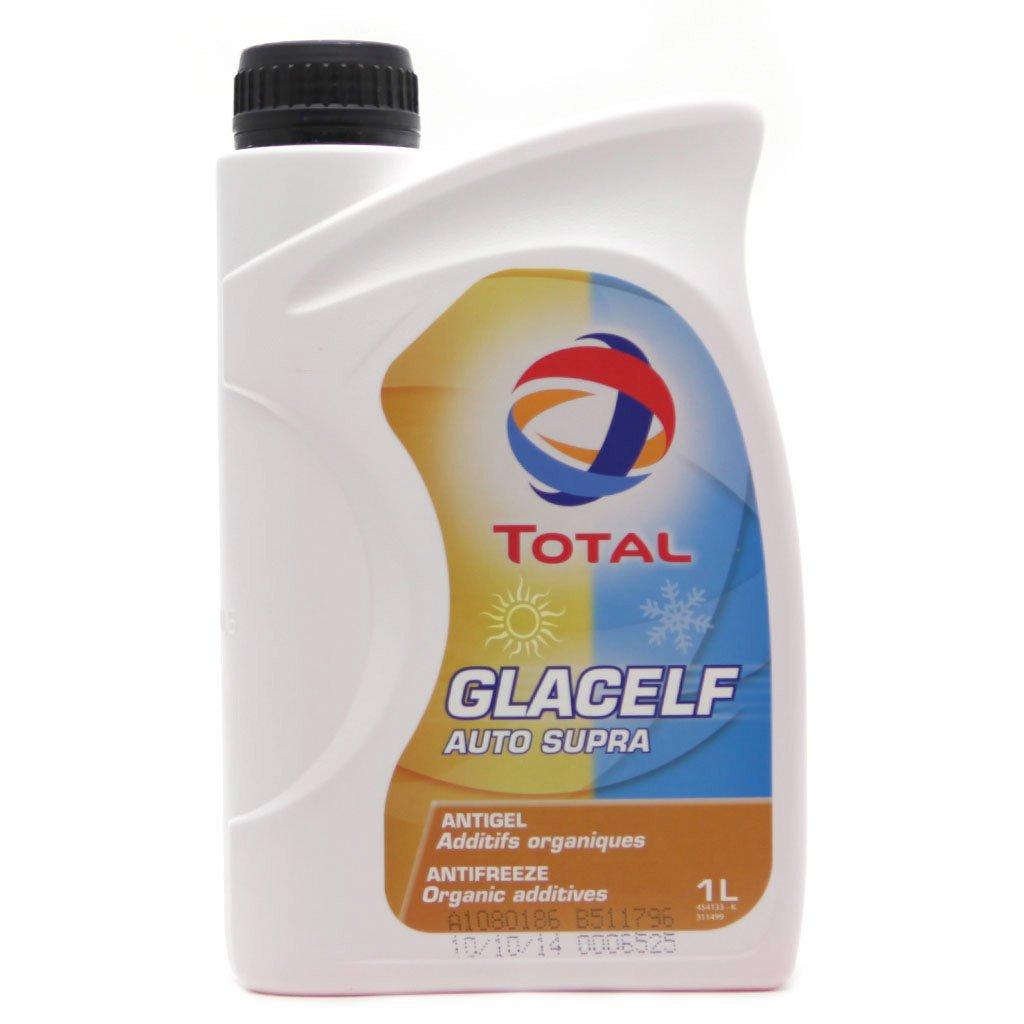 Антифриз-концентрат TOTAL Glacelf Auto Supra -69 C (1л)  красный