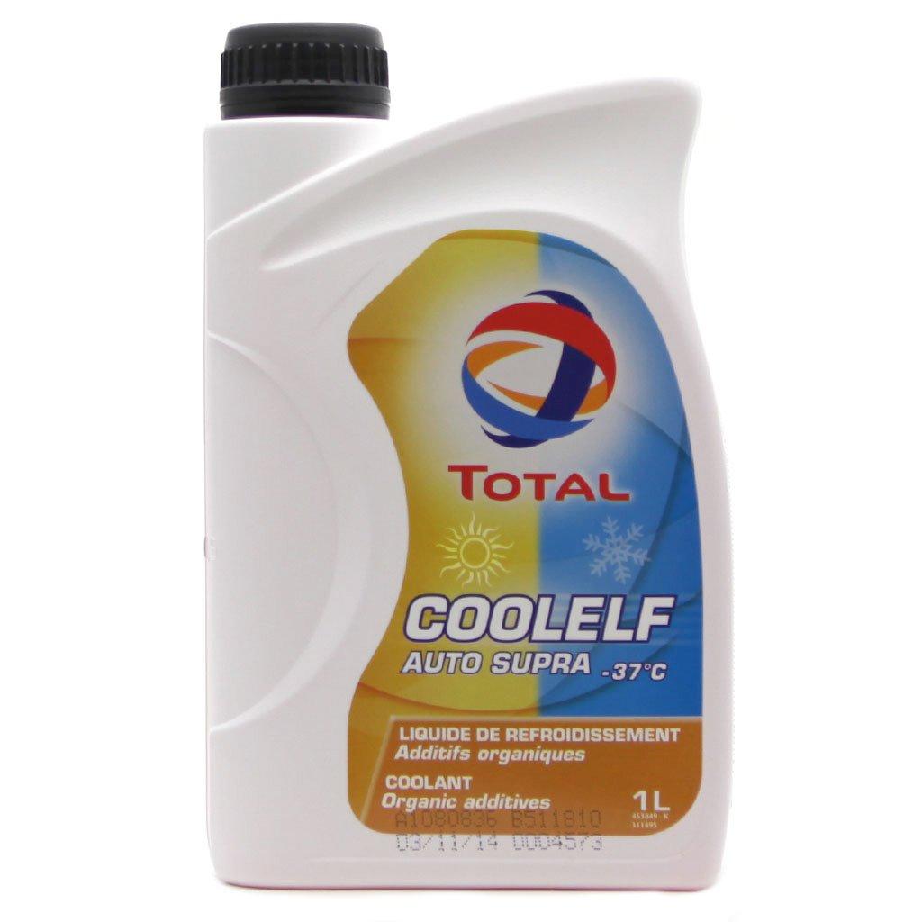 Антифриз TOTAL Coolelf Auto Supra -37 C  (1л ) красн. G12+
