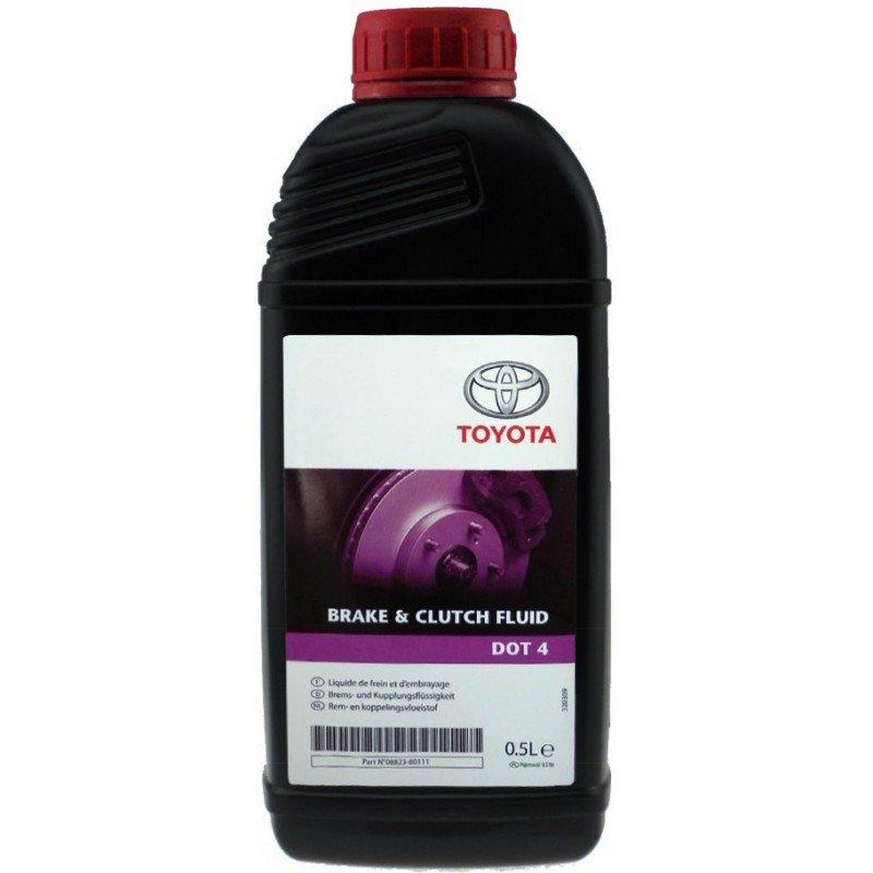 Жидкость тормозная Toyota DOT4 Brake Fluid  (0.5л)