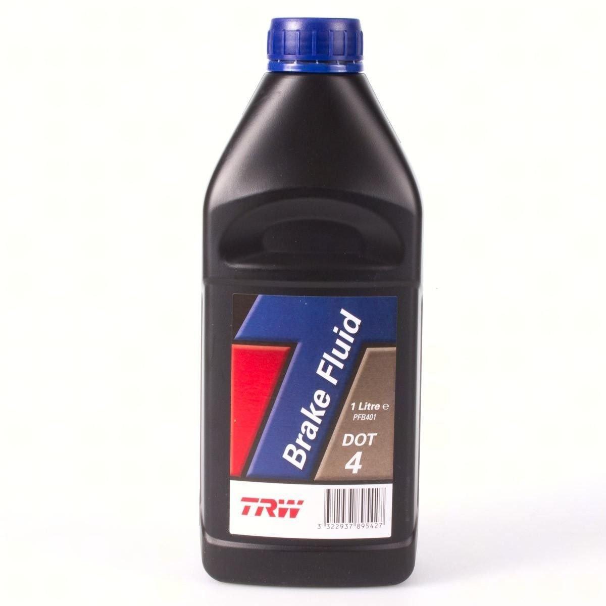 Жидкость тормозная TRW Brake Fluid DOT 4 1л.
