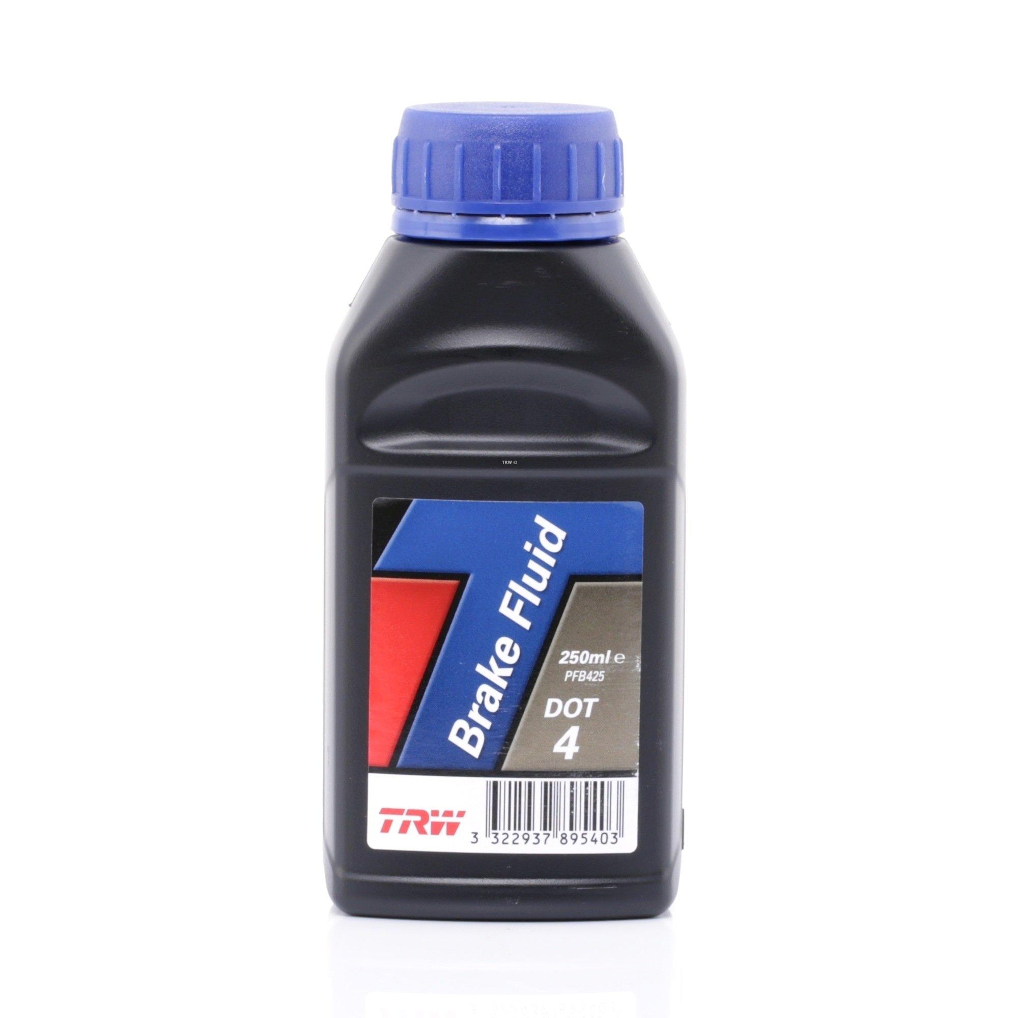Жидкость тормозная TRW BRAKE FLUID DOT 4  0.25л.