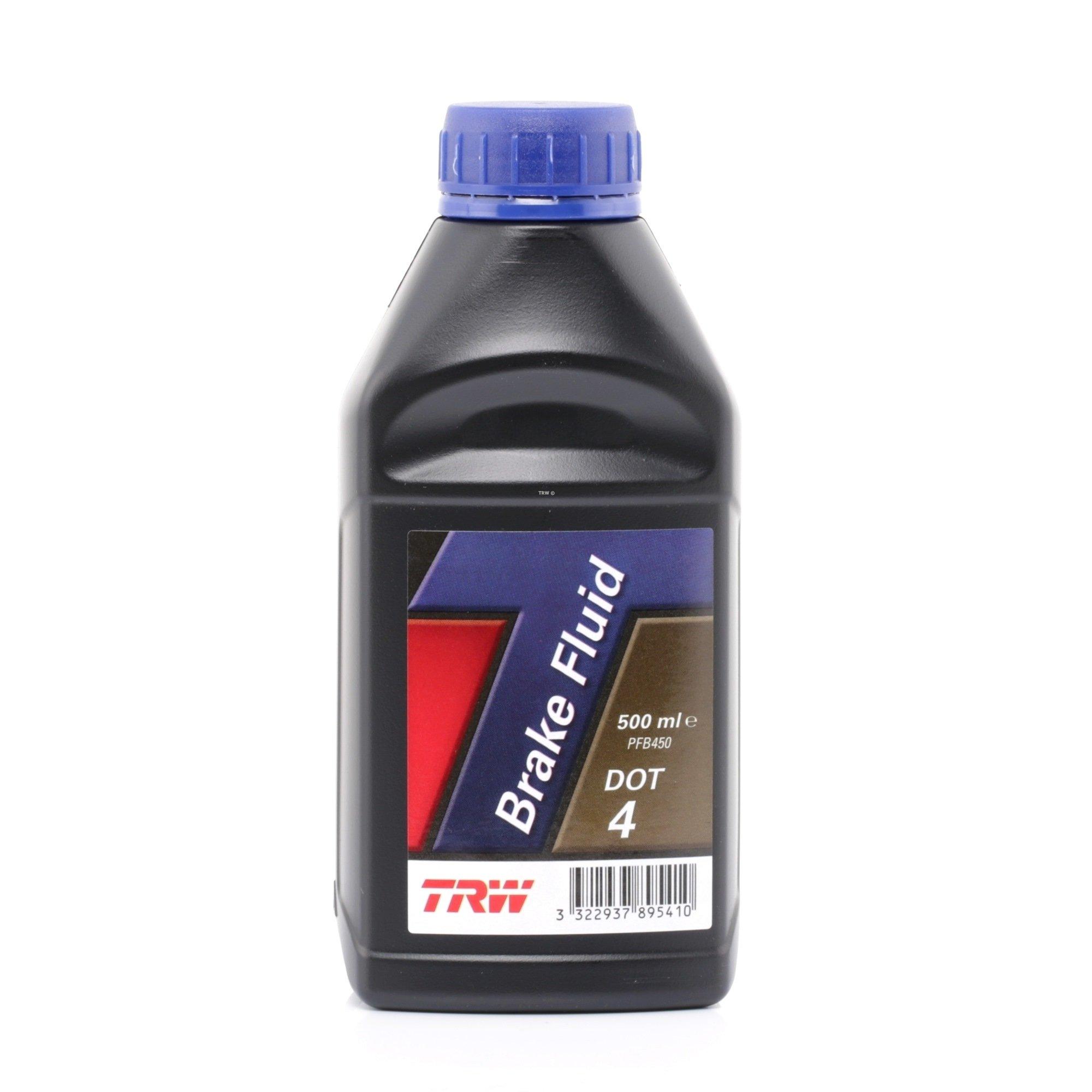 Жидкость тормозная BRAKE FLUID DOT4  (0.5л)