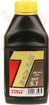 Жидкость тормозная TRW BRAKE FLUID DOT 5.1 0.5л