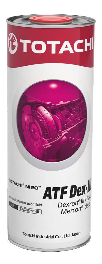 Масло трансмиссионное TOTACHI NIRO  ATF DEXRON III гидрокрекинг        1 кг/(1л)