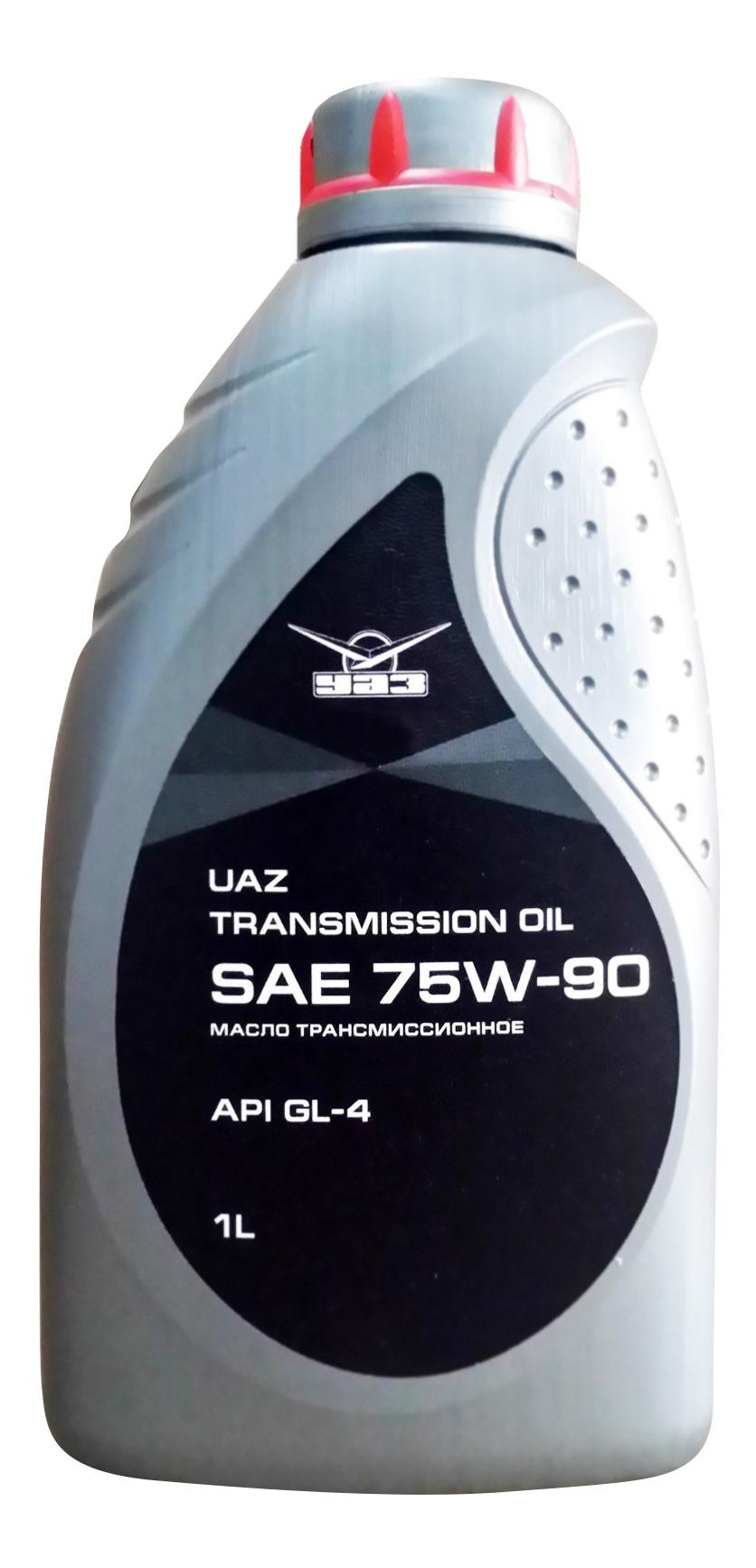 Масло трансмиссионное УАЗ SAE 75W90 API GL-4 1л.