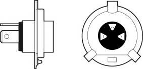 Лампа H4 12V 60 55W Essential