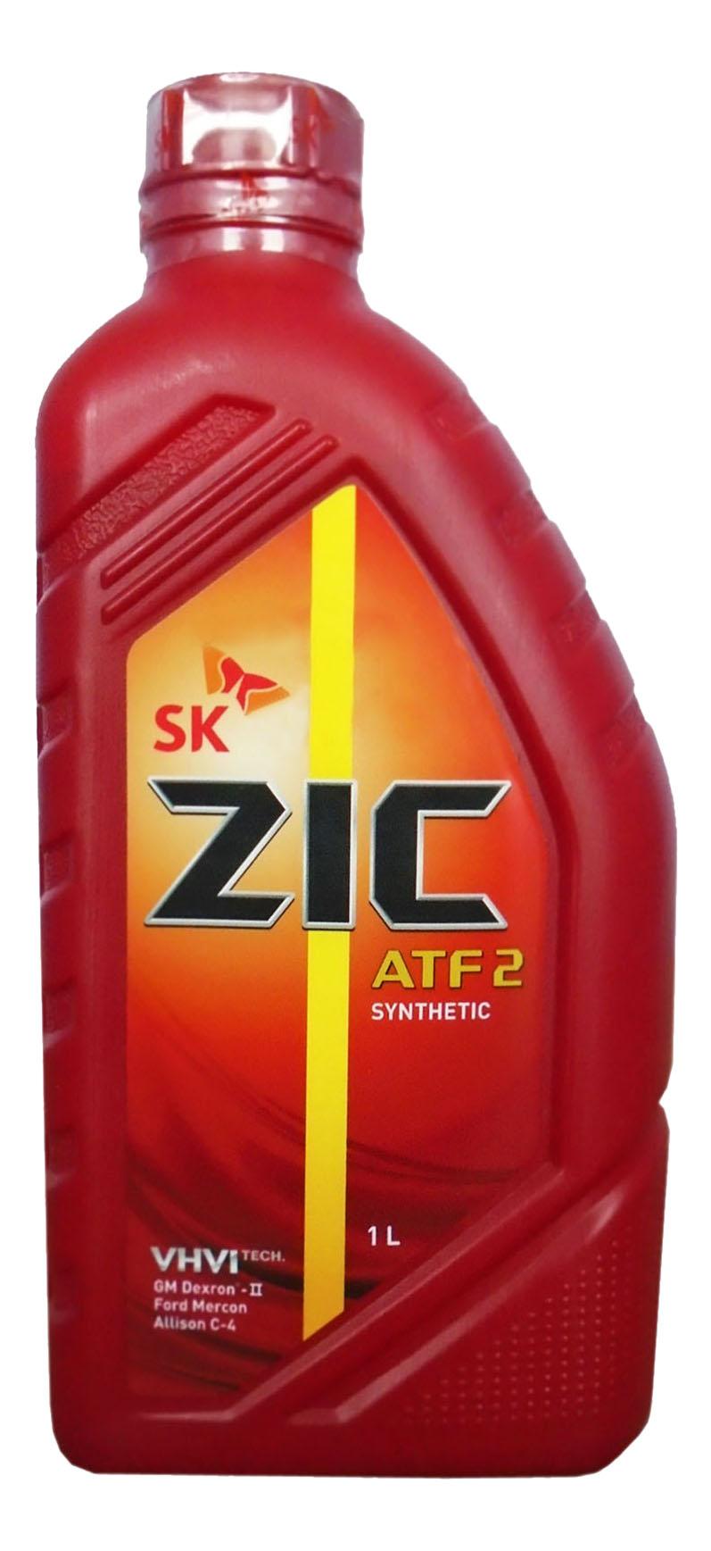 масло синт. для автоматических трансмиссий ZIС   ATF 2   (1л)(12шт)